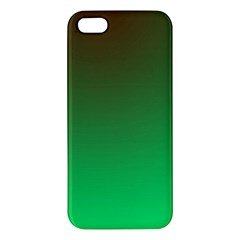 Course Colorful Pattern Abstract Green Iphone 5s/ Se Premium Hardshell Case