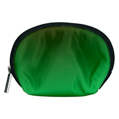 Course Colorful Pattern Abstract Green Accessory Pouches (medium)
