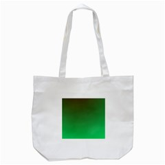 Course Colorful Pattern Abstract Green Tote Bag (white)
