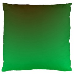 Course Colorful Pattern Abstract Green Large Flano Cushion Case (one Side)