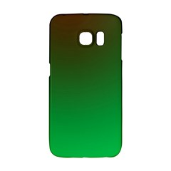 Course Colorful Pattern Abstract Green Galaxy S6 Edge