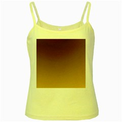 Course Colorful Pattern Abstract Yellow Spaghetti Tank