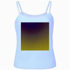 Course Colorful Pattern Abstract Baby Blue Spaghetti Tank