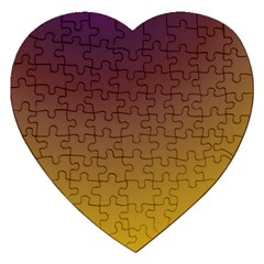Course Colorful Pattern Abstract Jigsaw Puzzle (heart)