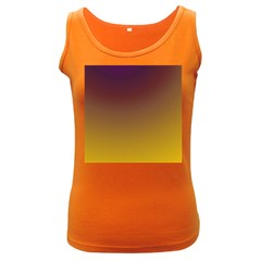 Course Colorful Pattern Abstract Women s Dark Tank Top