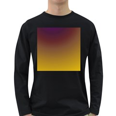 Course Colorful Pattern Abstract Long Sleeve Dark T Shirts