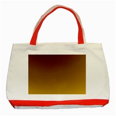 Course Colorful Pattern Abstract Classic Tote Bag (red)