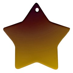 Course Colorful Pattern Abstract Star Ornament (two Sides)