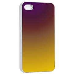 Course Colorful Pattern Abstract Apple Iphone 4/4s Seamless Case (white)
