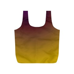 Course Colorful Pattern Abstract Full Print Recycle Bags (s)