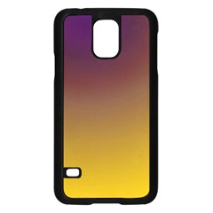 Course Colorful Pattern Abstract Samsung Galaxy S5 Case (black)