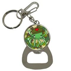 Octopus Army Ocean Marine Sea Button Necklaces