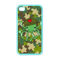 Octopus Army Ocean Marine Sea Apple Iphone 4 Case (color)