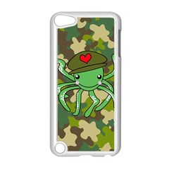 Octopus Army Ocean Marine Sea Apple Ipod Touch 5 Case (white)