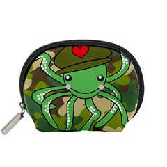 Octopus Army Ocean Marine Sea Accessory Pouches (small)