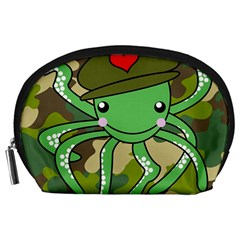 Octopus Army Ocean Marine Sea Accessory Pouches (large)