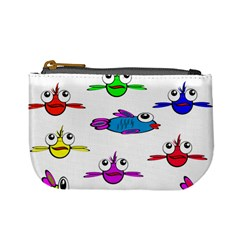 Fish Swim Cartoon Funny Cute Mini Coin Purses