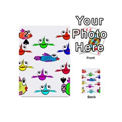 Fish Swim Cartoon Funny Cute Playing Cards 54 (mini)
