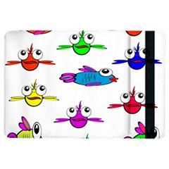 Fish Swim Cartoon Funny Cute Ipad Air 2 Flip