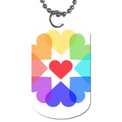 Heart Love Romance Romantic Dog Tag (two Sides)