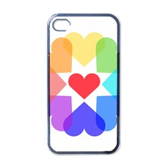 Heart Love Romance Romantic Apple Iphone 4 Case (black)