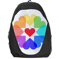 Heart Love Romance Romantic Backpack Bag