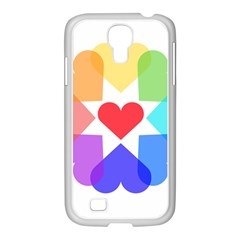 Heart Love Romance Romantic Samsung Galaxy S4 I9500/ I9505 Case (white)