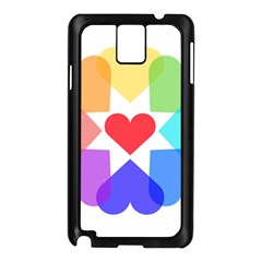 Heart Love Romance Romantic Samsung Galaxy Note 3 N9005 Case (black)