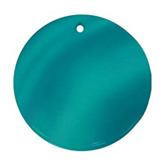 Background Image Background Colorful Round Ornament (two Sides)