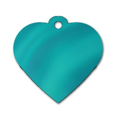 Background Image Background Colorful Dog Tag Heart (two Sides)
