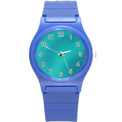 Background Image Background Colorful Round Plastic Sport Watch (s)
