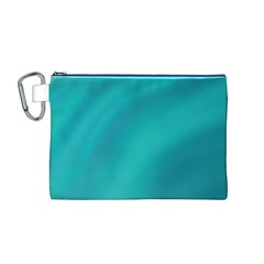 Background Image Background Colorful Canvas Cosmetic Bag (m)