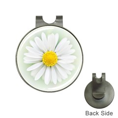 Art Daisy Flower Art Flower Deco Hat Clips With Golf Markers
