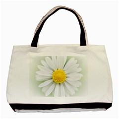 Art Daisy Flower Art Flower Deco Basic Tote Bag (two Sides)