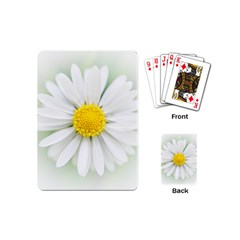 Art Daisy Flower Art Flower Deco Playing Cards (mini)