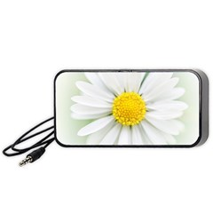 Art Daisy Flower Art Flower Deco Portable Speaker (black)