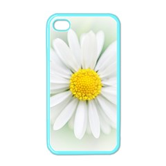 Art Daisy Flower Art Flower Deco Apple Iphone 4 Case (color)