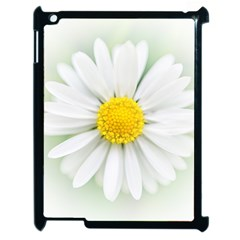 Art Daisy Flower Art Flower Deco Apple Ipad 2 Case (black)