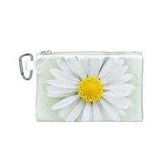 Art Daisy Flower Art Flower Deco Canvas Cosmetic Bag (s)