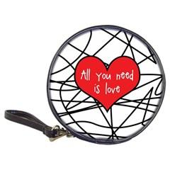 Love Abstract Heart Romance Shape Classic 20 Cd Wallets