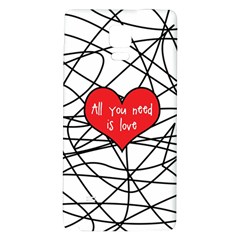 Love Abstract Heart Romance Shape Galaxy Note 4 Back Case