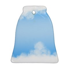 Sky Cloud Blue Texture Ornament (bell)