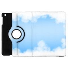 Sky Cloud Blue Texture Apple Ipad Mini Flip 360 Case