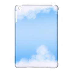 Sky Cloud Blue Texture Apple Ipad Mini Hardshell Case (compatible With Smart Cover)