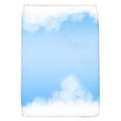 Sky Cloud Blue Texture Flap Covers (l)