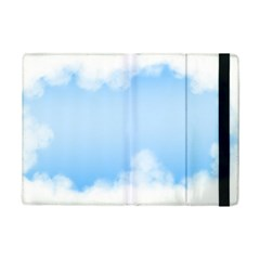 Sky Cloud Blue Texture Ipad Mini 2 Flip Cases