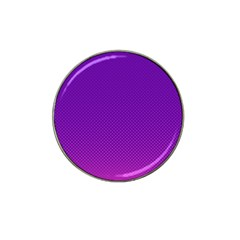 Halftone Background Pattern Purple Hat Clip Ball Marker (4 Pack)
