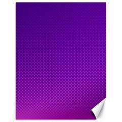 Halftone Background Pattern Purple Canvas 18  X 24