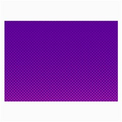 Halftone Background Pattern Purple Large Glasses Cloth
