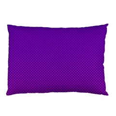Halftone Background Pattern Purple Pillow Case